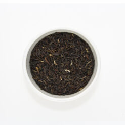 darjeeling tea in bowl