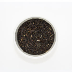 darjeeling tea in bowl